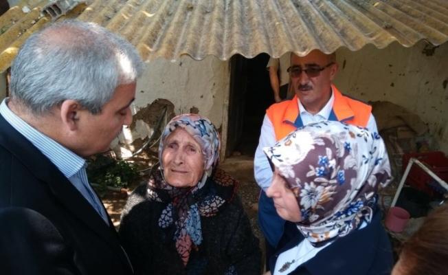 Vali Güvençer'den şehit Fevzi Kıral'ın ailesine taziye