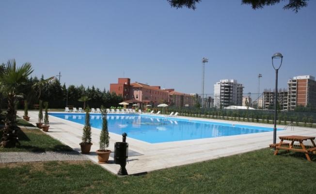 Yüzme kurslarına talep fazla olunca ikinci havuz da açıldı