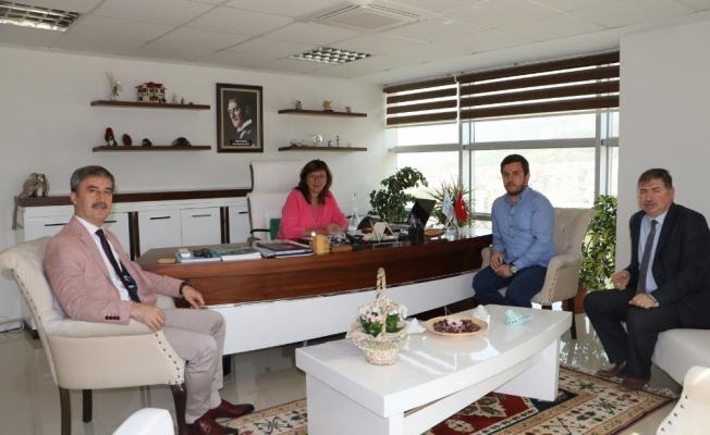 Başkan Şirin'den MASKİ'ye atık su ziyareti