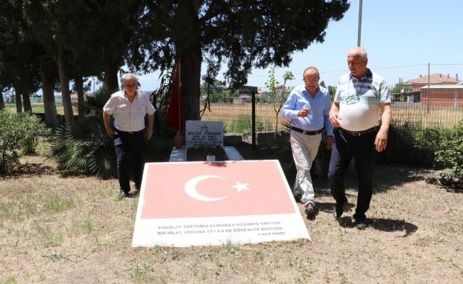 Manisa Büyükşehir Belediyesinden mezarlık incelemesi