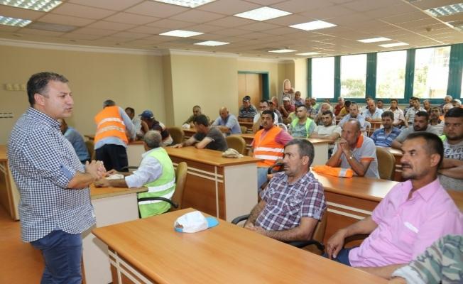 Turgutlu Belediyesi personeline eğitim