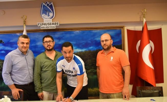 Yunusemre Belediyespor'dan sol bek transferi