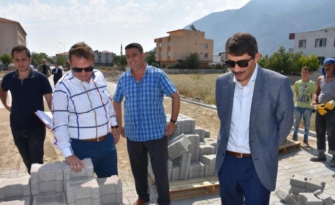 Ahmet Bedevi Mahallesi sakinlerini sevindiren hizmet