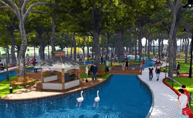 'Şehzadeler Park' Manisa'ya değer katacak