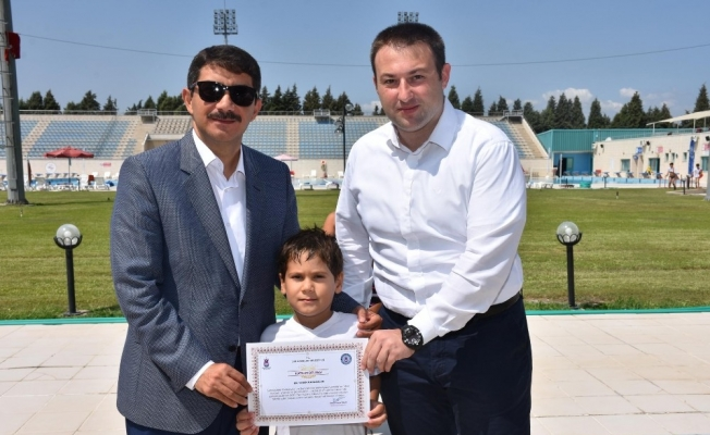 Şehzadeler'in yaz spor okulu sona erdi