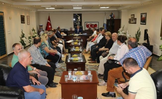 Başkan Şirin, Makedon göçmenlerini ağırladı