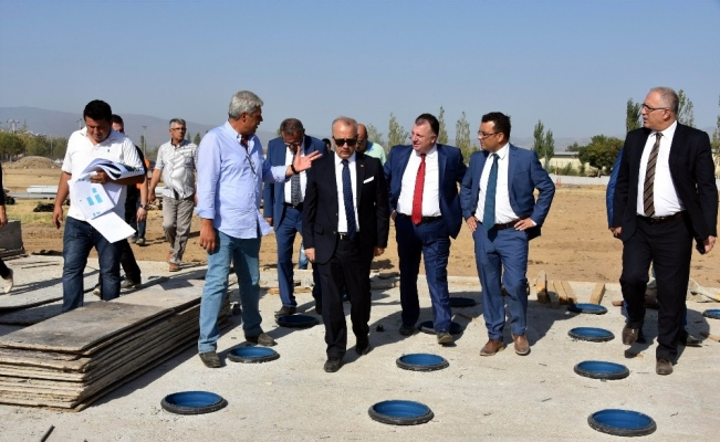 Başkanlar Salihli'nin projelerini inceledi