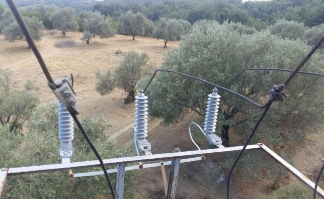 Çalışmayan tarımsal sulama sistemi onarıldı