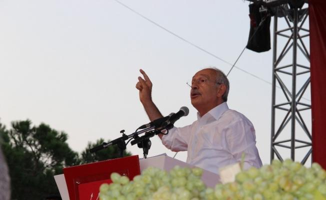 Kılıçdaroğlu'ndan 4 liralık üzüme tepki