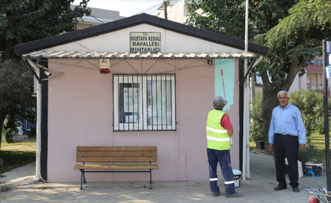Turgutlu'daki muhtarlık binaları da yenileniyor