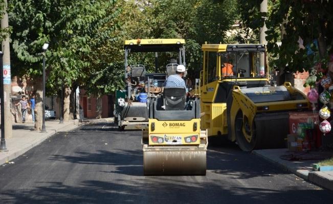 Ulutepe Caddesi yenilendi