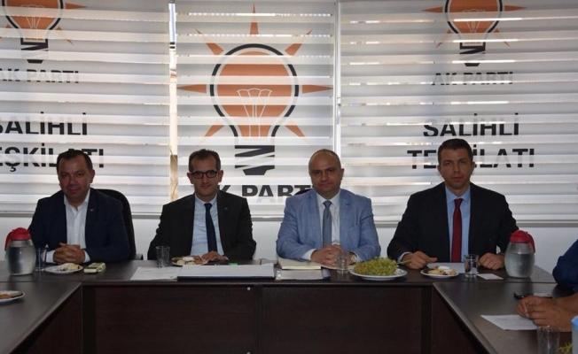 AK Partili Mersinli yeni yöneticileri tebrik etti