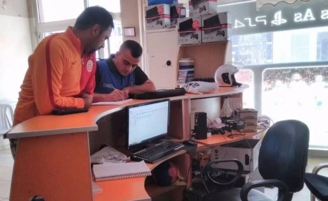 Alaşehir zabıtasından internet kafelerde denetim