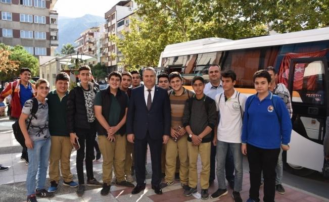 Başkan Çerçi öğrenciler ile buluştu