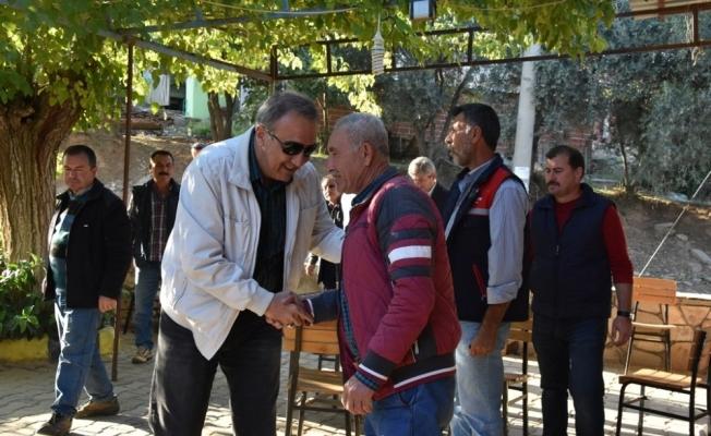 Başkan Karaçoban mahalle programlarına devam ediyor