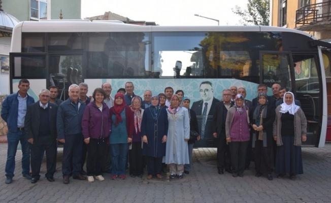 Başkan Karaçoban'dan gazilere Karadeniz turu