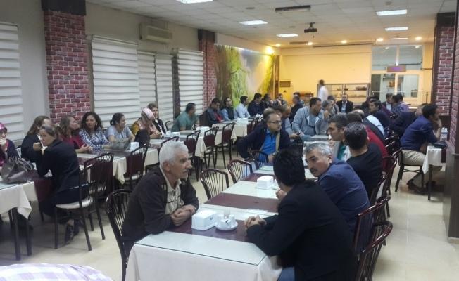 Eğitim-Bir-Sen Turgutlu'da İstişare Toplantısında buluştu