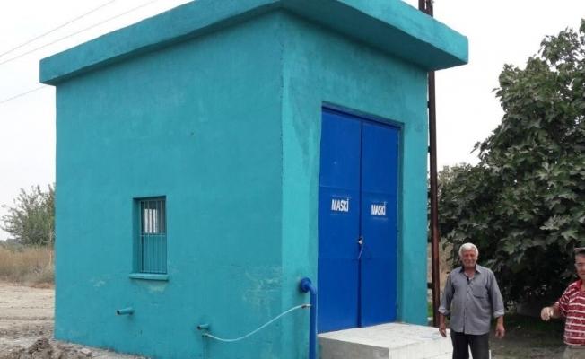 Evrenos'un hidrofor tesisi yenilendi