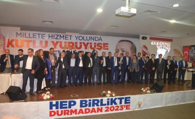 Kula AK Parti İlçe Başkanı Palabıyık güven tazeledi