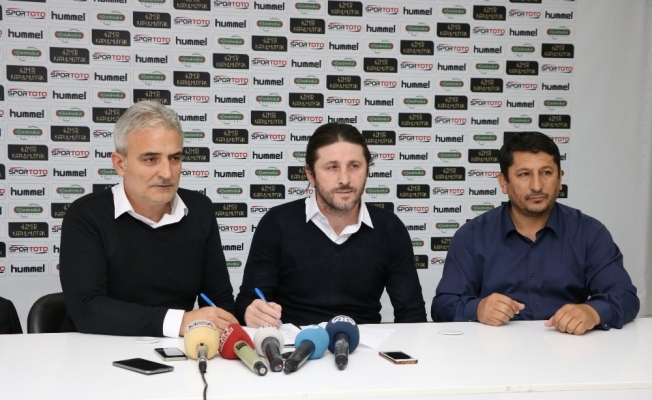 Teknik Direktör Fatih Tekke, Manisaspor'la sözleşme imzaladı