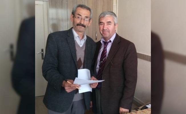 CHP'li Kaygısız mazbatasını aldı