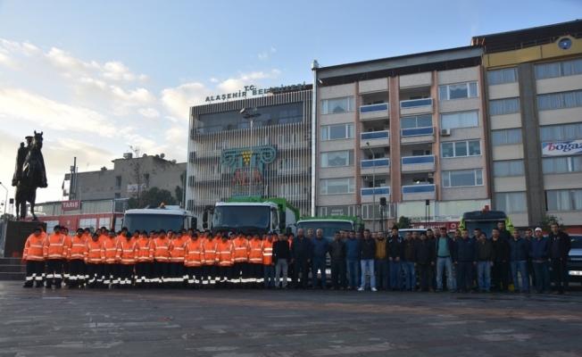 Alaşehir Belediyesi daha temiz bir kent için çalışıyor