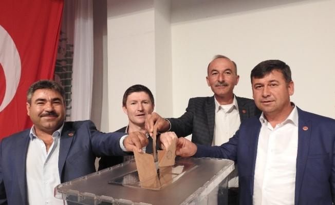 Demirci SYDV Mütevelli Heyetinde muhtar seçimi yapıldı