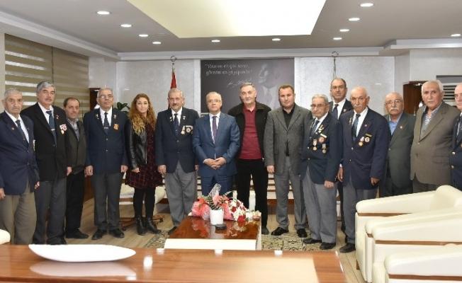 Gazilerden Başkan Kayda'ya Kıbrıs gezisi teşekkürü