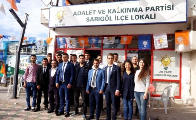 Sarıgöl AK Parti İlçe Gençlik Kolları Başkanı Cavit Batuk oldu