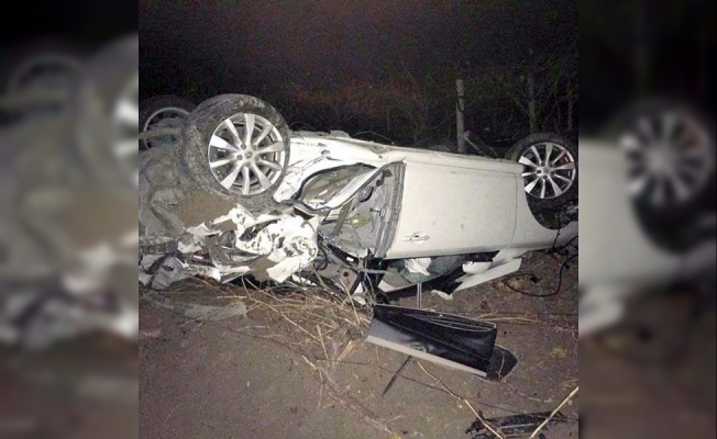 Saruhanlı'da trafik kazası: 1 ölü