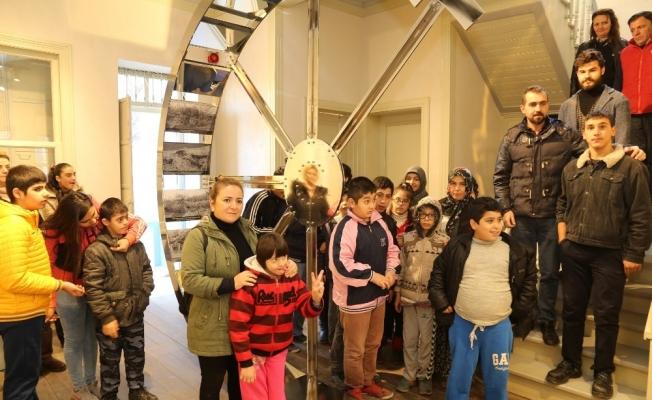 Turgutlu'da özel öğrenciler Kent Müzesi'ni gezdi