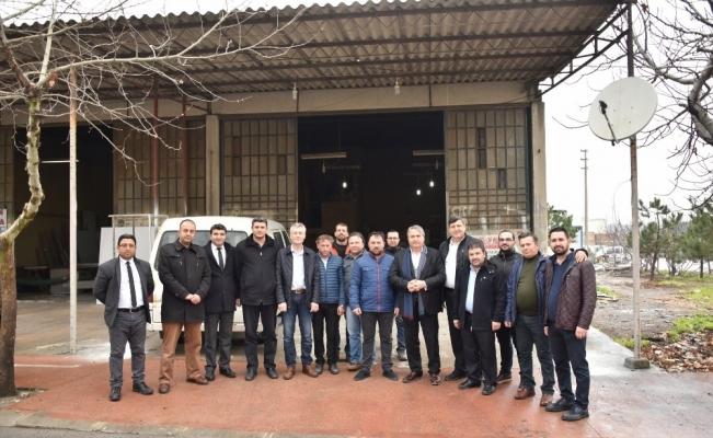 Başkan Çerçi sanayi esnafını dinledi