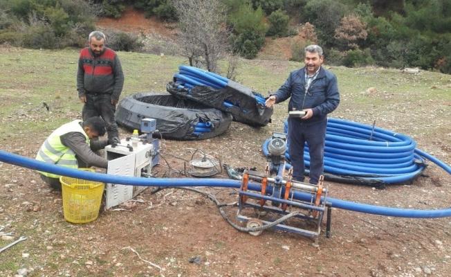 Sancaklıuzunçınar'ın 50 yıllık içme suyu terfi hattı yenileniyor