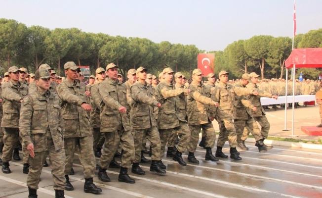 Alaşehir'de bin 289 acemi er yemin etti