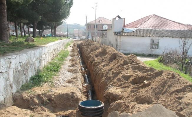 Çimentepe Mahallesi'ne yeni kanalizasyon hattı
