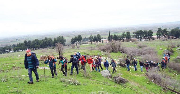 İzmirli dağcılar da Manisa'yı tercih ediyor