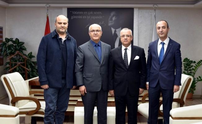 Rektör Yardımcısından Başkan Kayda'ya teşekkür ziyareti
