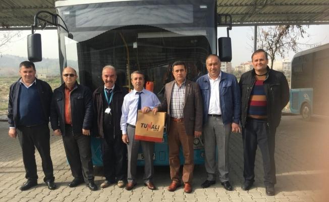 Salihli'de ayın örnek şoförü seçildi