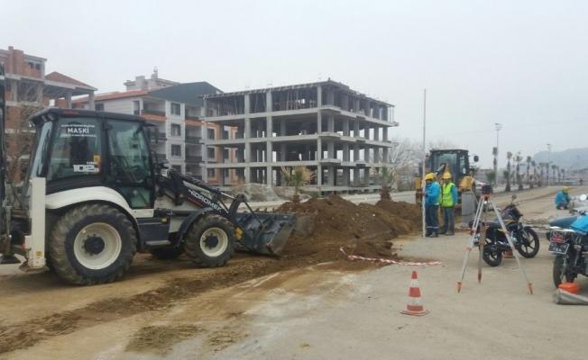 Salihli'de yeni yerleşim yerine yeni hat