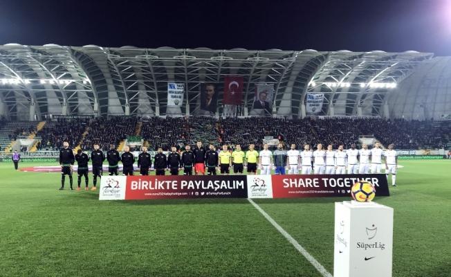 Spor Toto Süper Lig: T.M. Akhisarspor: 1 - A.Konyaspor: 0 (İlk yarı)
