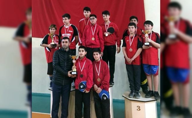 Yıldızlar masa tenisi il birinciliği müsabakaları sona erdi