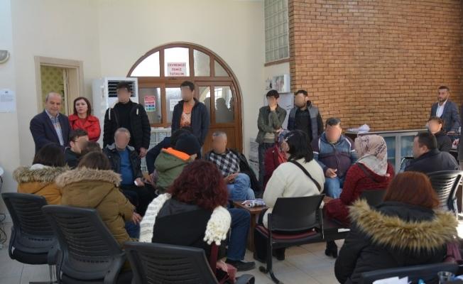 Yunusemre Belediyesi hastaları ağırladı