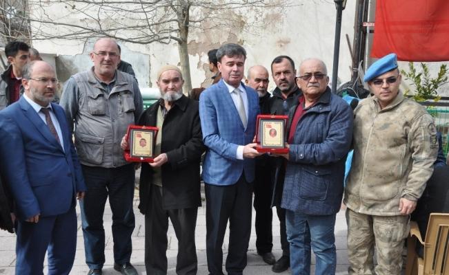 Afrin şehitleri Kırkağaç'ta unutulmadı