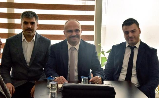 AK Parti'li Mersinli, Alaşehir'de seçim çalışmalarını başlattı