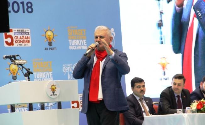 Başbakan Yıldırım'dan CHP'ye cumhur ittifakı cevabı