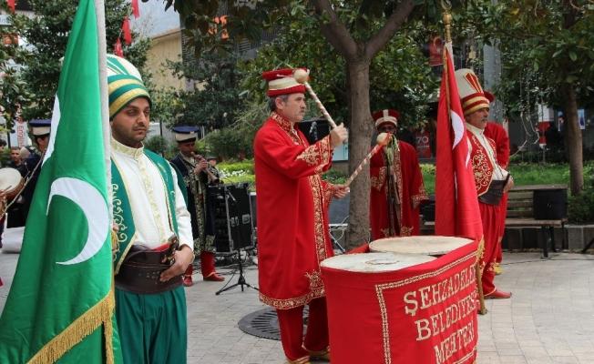 Çanakkale Zaferi'ne mehterli kutlama