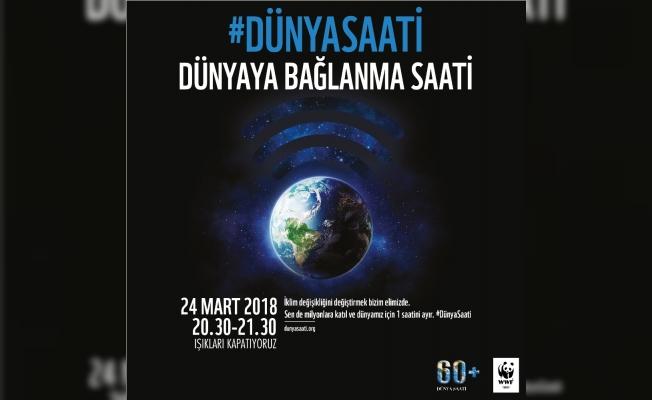 Forum Magnesia'dan 'Dünya Saati'ne destek