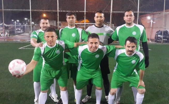 Gölmarmara'da şampiyon Manisa Büyükşehir Belediyesi oldu