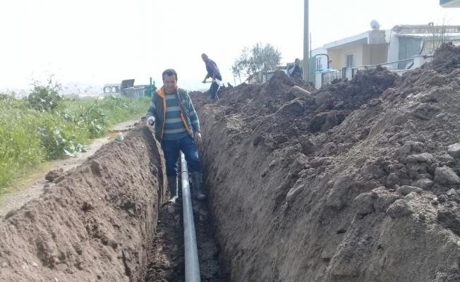 Mahallelerin su sorunları gideriliyor
