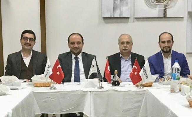 Manisa MÜSİAD, AK Parti'li Baybatur'u konuk etti